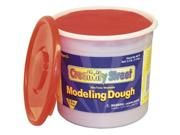 ChenilleKraft 3lb Tub Modeling Dough Red