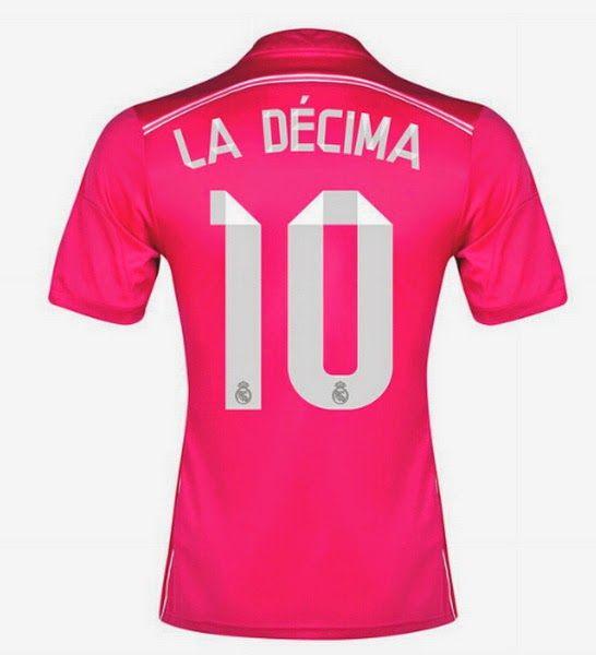 Segunda equipacion La Décima del Real Madrid 2014 2015 ...