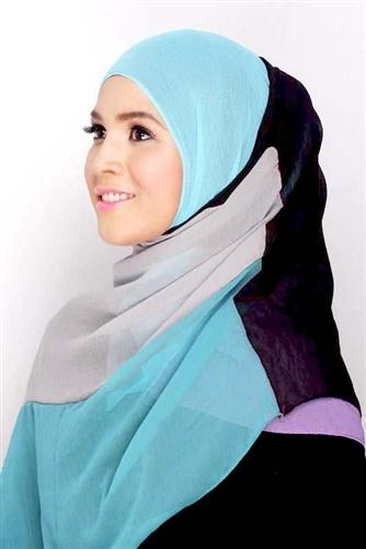 Patchwork Turkish Square Hijabs