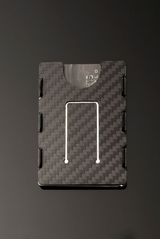The slimTECH Carbon Fiber Wallet is constructed from stunning aerospace grade carbon fiber. It is light weight and ultra slim and will last a lifetime.