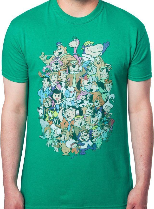 Hanna Barbera Characters T-Shirt - Cartoon T-Shirt