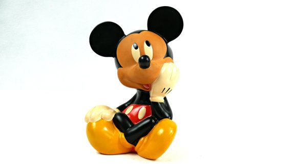 Mickey Mouse. Mickey Mouse figurine. Mickey by VintageLittleGems