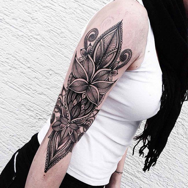 Les superbes tatouages ornementaux et graphiques de Jessica Kinzer | Inkage
