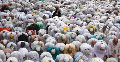 AMO VOCÊ EM CRISTO: Falso boato sobre vinda de 1,8 milhão de muçulmano...