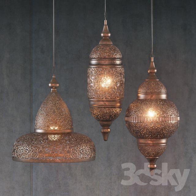 Ethnic Mediterranean pendant lights