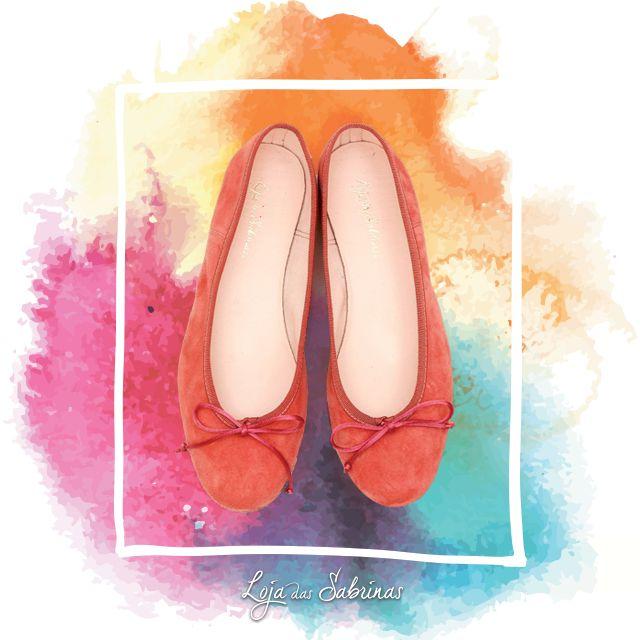 O verão é feito de cor e calor e tem cheiro a mar, tal como as nossas Sabrinas Coral. Bom fim de semana! ☺  http://www.lojadassabrinas.com/product/coral