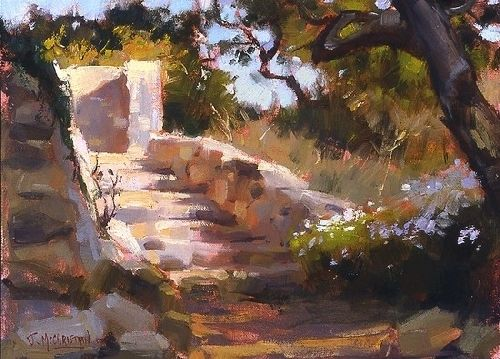 'Casita di Arroyo' by Jennifer McChristian Oil ~ 9 x 12