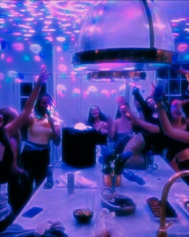 euphoria party aesthetic
