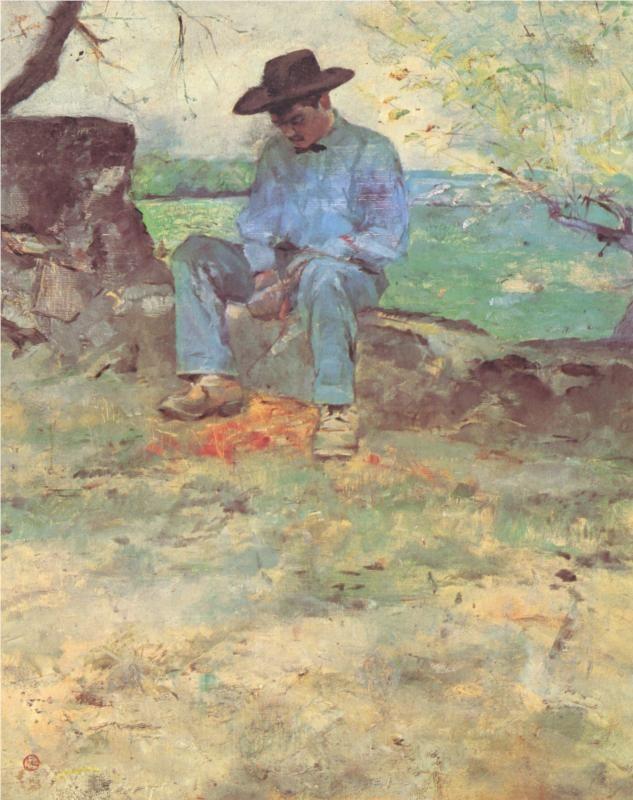 The Young Routy Céleyran, 1882 / Henri de Toulouse-Lautrec