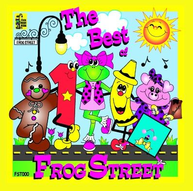 Best Of Frog Street CD | Frog Street Press
