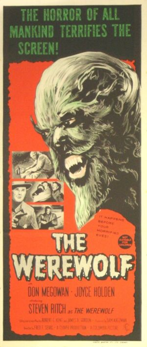 The Werewolf, 1956 - original vintage poster listed on AntikBar.co.uk