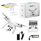 UPair One Drone with 2.7K HD Camera, 5.8G FPV Monitor Transmit Live Video, 2.4G Remote Controller, GPS Auto Return Function, a key to Return, Beginners Quadcopter Drone – Robots Play