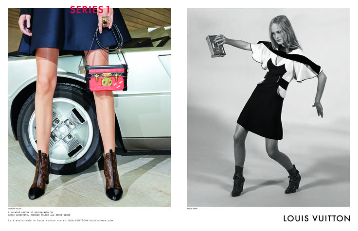 Kampania Louis Vuitton jesień-zima 2014/2015, fot. Bruce Weber, Annie Leibovitz i Juergen Teller