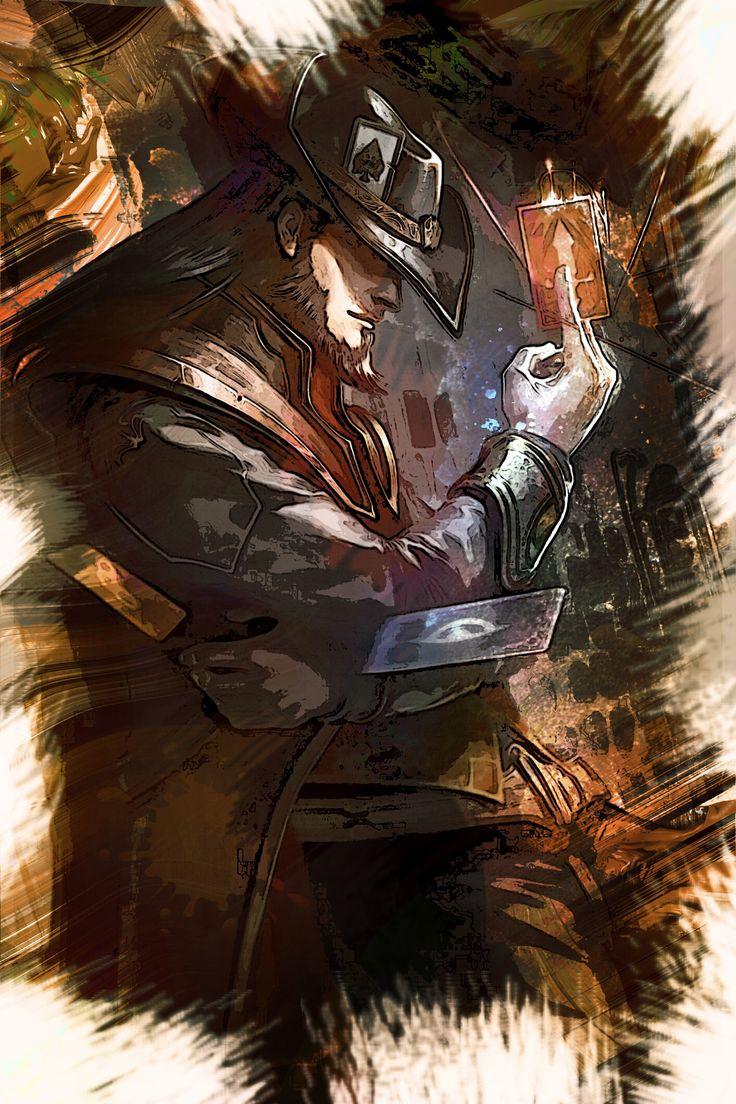 League of Legends TWISTED FATEGreetings!►► DESCRIPTION:Custom artwork of the…