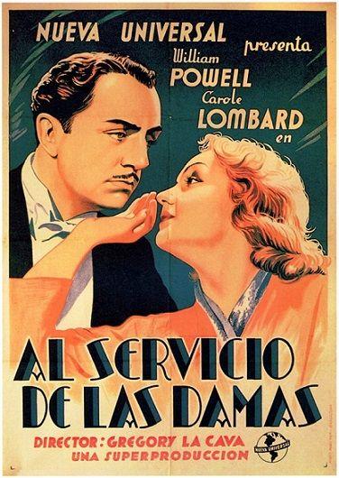 """Al servicio de las damas (1936) """"My Man Godfrey"""" de Gregory La Cava - tt0028010"""