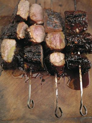 Love these, we make them again and again but don't bother with the skewers