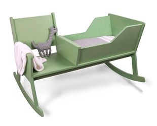 A rocking chair and a cradle in one. While softly swinging the rocking chair and reading a book, the baby falls asleep, hopefully... ;-) Rockid from designstudio OntwerpduoBaby Rocker, Baby Fall, Rocks Chairs Cradle, Rocking Chairs, Baby Beds, Rocker Cradle, Baby Dolls, New Moms, Baby Cribs