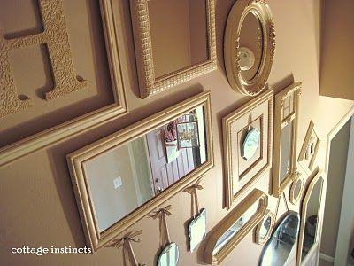 Mirror Gallery Wall Inspiration - DIY Playbook