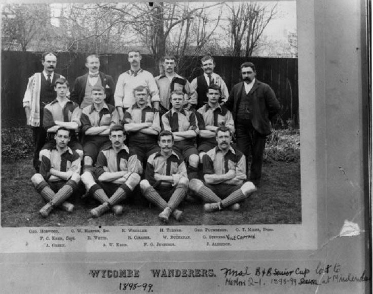 WYCOMBE WANDERERS F.C. 1898/99