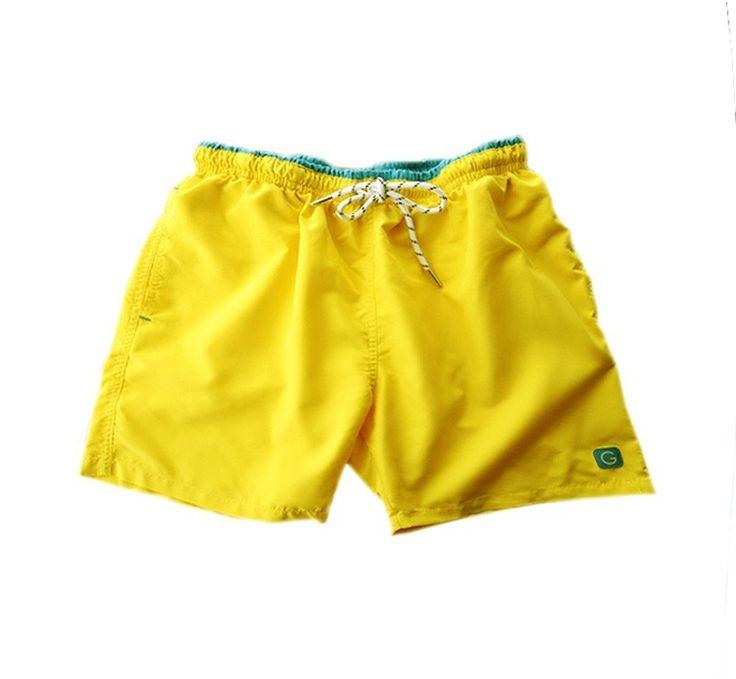 Bañador Giulio Brander amarillo http://www.varelaintimo.com/marca/10/giulio #menswear