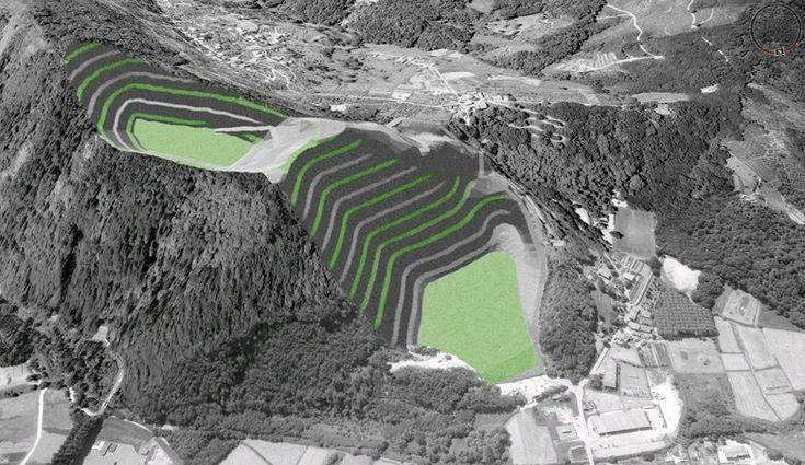 Plastici virtuali della Cava Vendoia di Valdottavo, Valdottavo, 2008 - Alberto Antinori