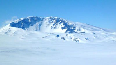 Volcano discovery hints at fire below ice in Antarctica