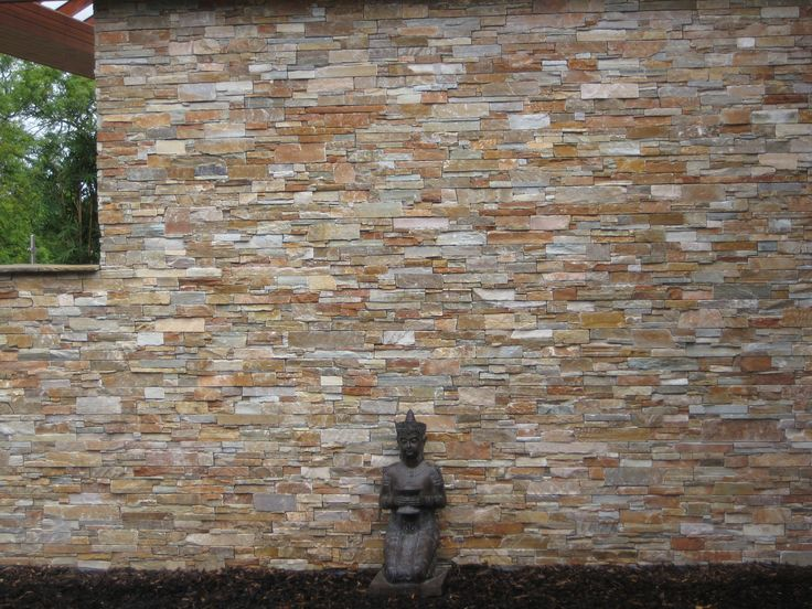 de pared de gres porcelnico imitacin piedra para exterior stone wall realonda materiales y pinterest stone walls and