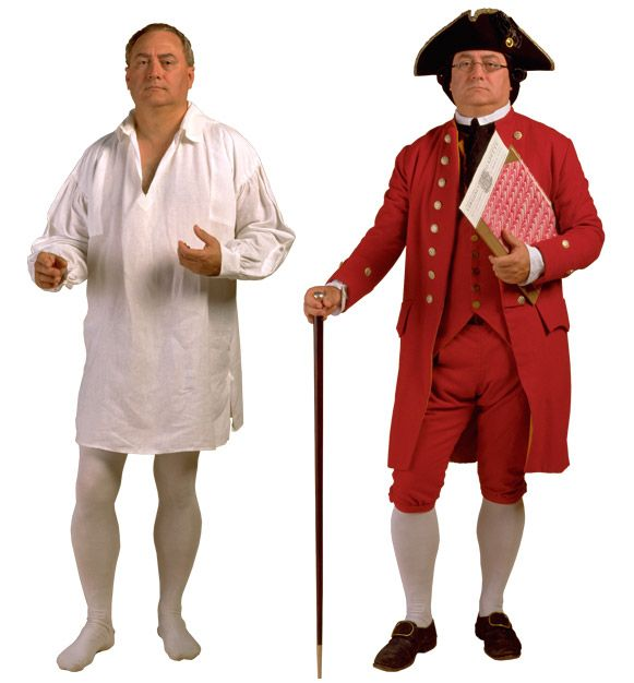 47 best Colonial Clothing for men images on Pinterest ...