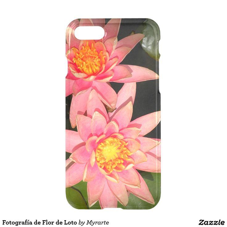 Fotografía de Flor de Loto. Producto disponible en tienda Zazzle. Tecnología. Product available in Zazzle store. Technology. Regalos, Gifts. Link to product: http://www.zazzle.com/fotografia_de_flor_de_loto_iphone_7_case-256175365480246645?CMPN=shareicon&lang=en&social=true&rf=238167879144476949 #carcasas #cases #flores #flowers