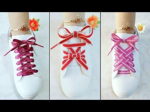 LACE SHOES   15 cool ideas how to tie shoe laces  …