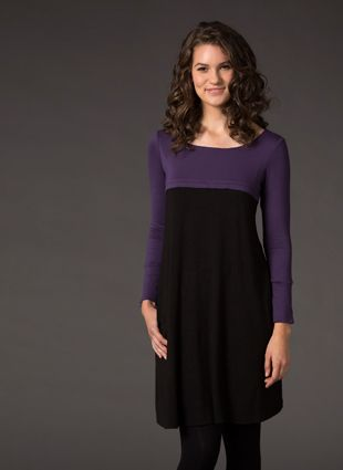Laila & Spot long sleeve dress, $60 FEATURES b/f access through a 2 way zip, very useful side pockets, stylish cut & flattering fit. Perfect to pair with leggings and boots in winter. Available online at http://lailaandspot.com.au/catalog/productdetails.aspx?ProductID=294
