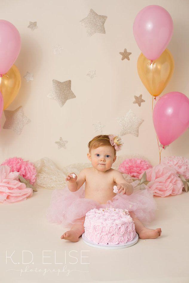 Baby One Year Birthday Cake