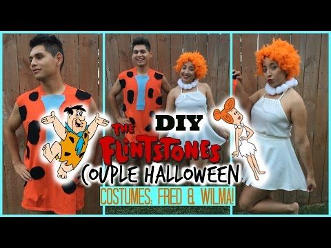 DIY Couple Halloween Costume: Fred & Wilma ( The Flintstones ), My Crafts and DIY Projects