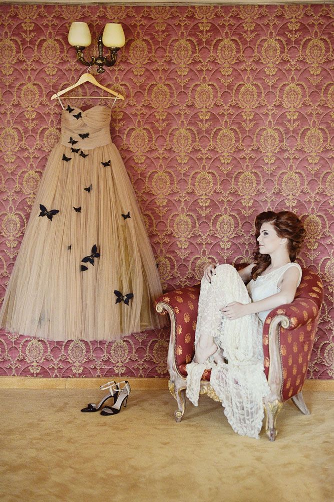 Glamorous Romanian Wedding with the Bride in a Butterfly Gown · Rock n Roll Bride