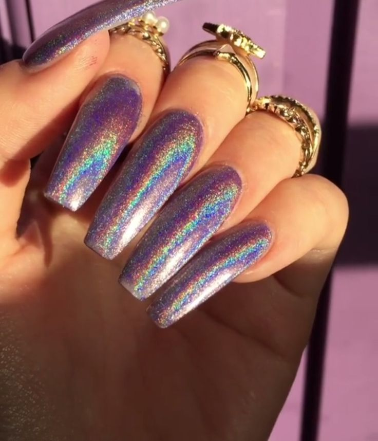 Holo nails. Shop on www.glam-sesh.com !