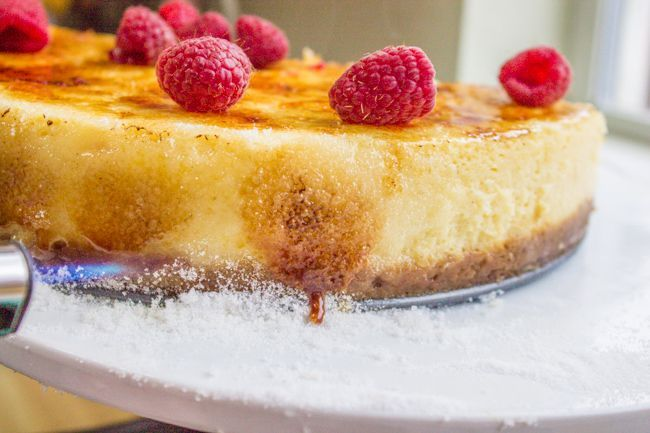Crème Brûlée Cheesecake - The Food Charlatan