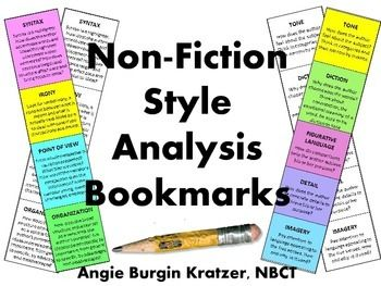 non fiction analysis Some cultures do not distinguish between fiction and nonfiction – and instead talk of 'stories' is that a barrier to english-language writers and publishers.