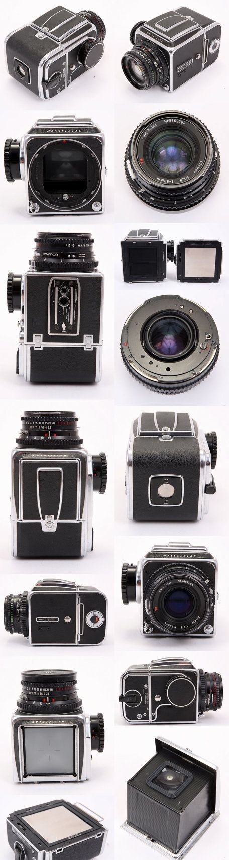 Hasselblad 500C w/ 80mm f/2.8 T, Finder & A12 Film Back 1961