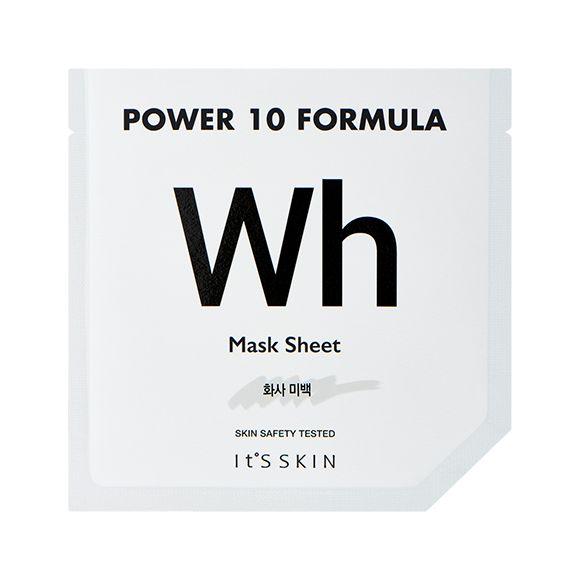 Power 10 Formula WH Маска тканевая осветляющая с арбутином, 200.00 руб.   Тканевая маска с арбутином для создания самого яркого тона, делает кожу прозрачной, роскошной.    Тканевая маска из плотной мягкой микроволоконной ткани, пропитанной cилой 10 высокообогащенных эссенций, каждый день снимает беспокойства Вашей кожи, подходит для любого типа кожи.  По сравнению с обычным волокном, в 150 раз более тонкое микроволокно (1.51 микрон) маски плотно прилегает к коже, эффективно передает все…