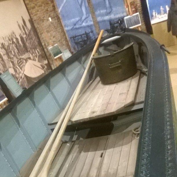 Cervia, museo del sale, la Brighella, imbarcazione per il trasporto del sale. #sale #saline #romagna #turismo