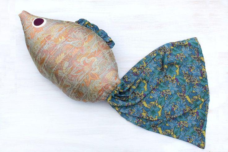#fish, #pillow #nauticalPillow #kidsRoom #giftIdea #ChristmasGift
