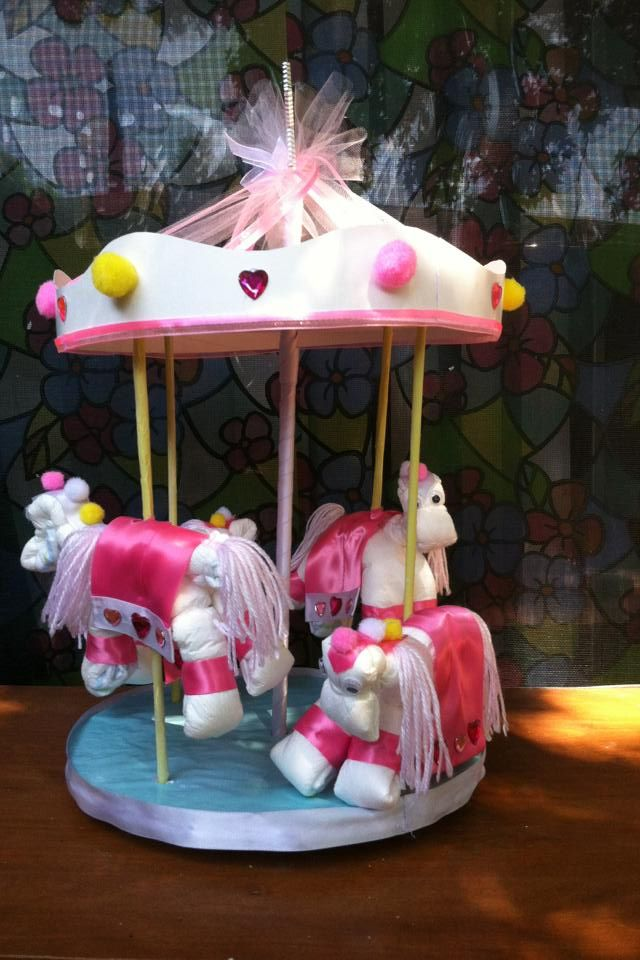 Diaper Carousel Baby Ideas Pinterest Carousels And