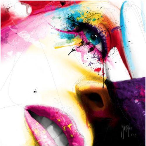 Les portraits colorés de Patrice Murciano   Blographisme