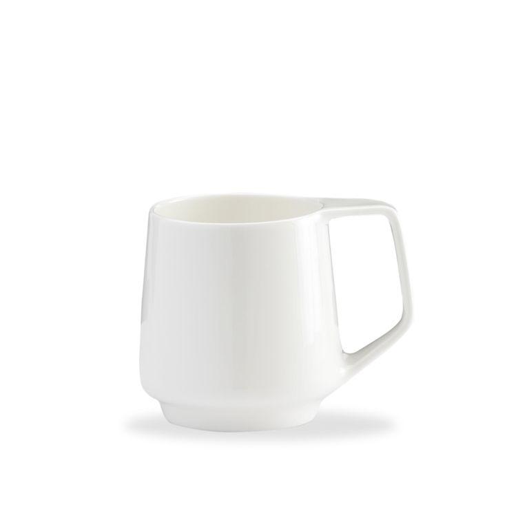 Marc Newson by Noritake fine bone china mug. http://www.noritake.com.au/our-collection/by-category/designer-tableware/marc-newson-by-noritake