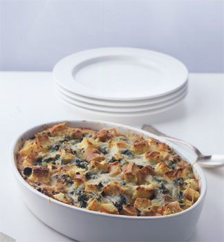 Spinach and Cheese Strata | Recipe | Spinach, Strata Recipes and ...
