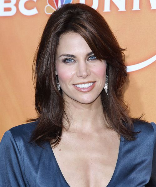 Brooke Burns - Casual Long Straight Hairstyle