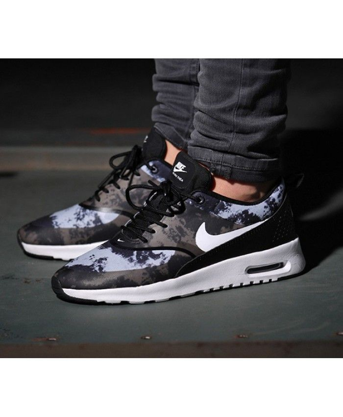 quality design 44896 8e2f7 ... where can i buy chaussure nike air max thea camouflage noir pas cher  nike air max