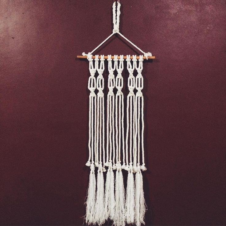 wall hanging rope macrame