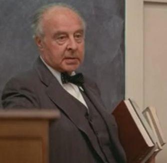 John Houseman as Professor Kingsfield.