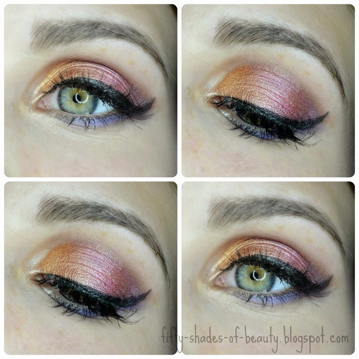 Fruit Sorbet Make Up | http://fifty-shades-of-beauty.blogspot.com/2014/08/make-up-owocowy-sorbet-make-up-fruit.html